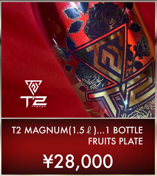 T2 MAGNUM(1.5ℓ)…1 BOTTLE FRUITS PLATE