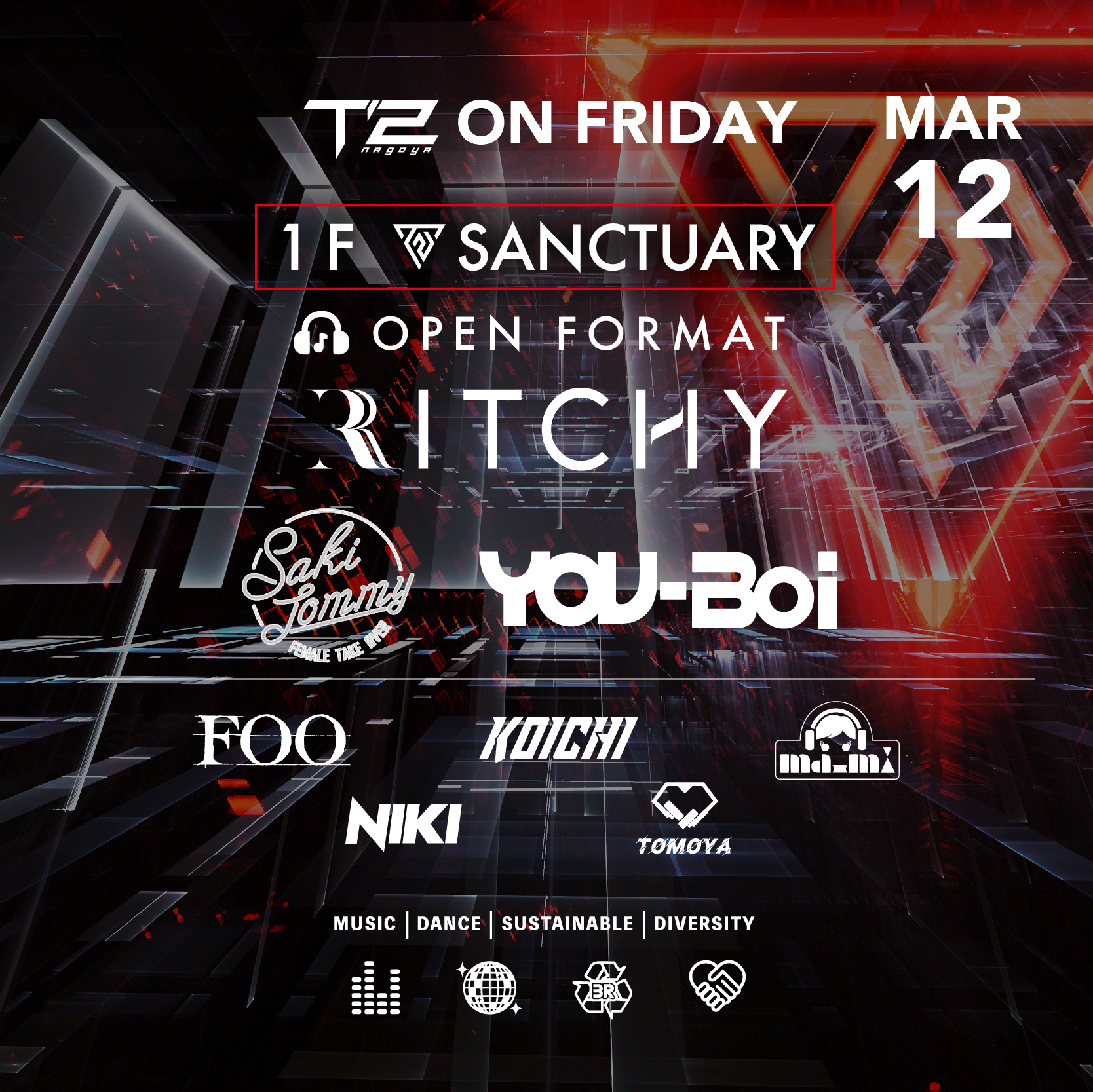 T2 ON FRIDAY